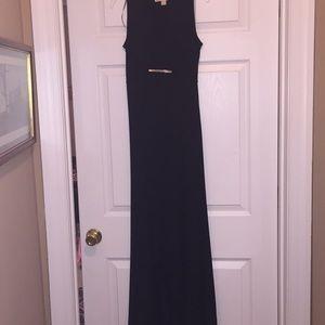 Michael Kors high low black dress